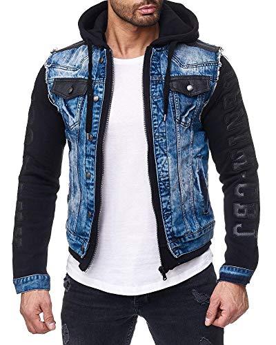 Cipo & Baxx Herren Jeans Jacke 154 Blau M