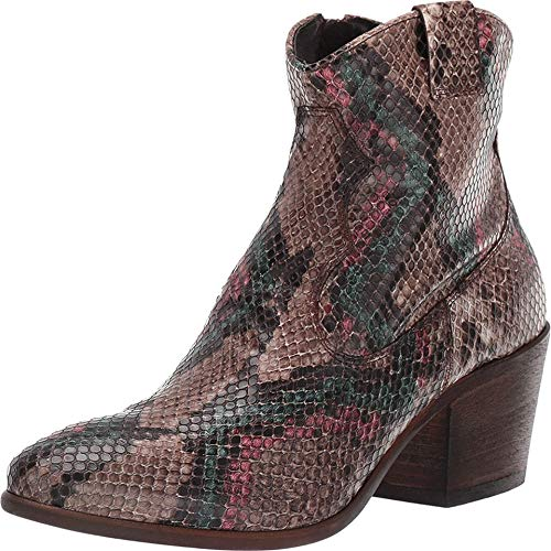 Cordani Prospera Brown Multi Python 37 (US Women's 6.5-7)