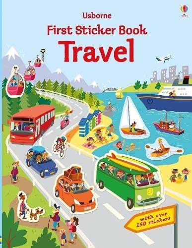 First Sticker Book Travel (First Sticker Books series)
