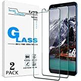 [2-Pack] KATIN Designed For LG Stylo 4 Tempered Glass Screen Protector No-Bubble, 9H Hardness, Easy to Install