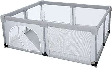 Playpens Play Yard Baby Large Safety Play Yard  Children Fence Play Area with Thick Steel Pipe for Boy Girl  200x150x70cm