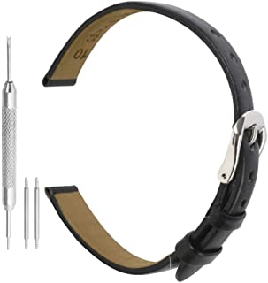 Watch Band Leather Genuine Watch Leather Strap Replacement Watchband