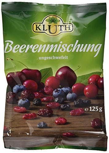 Kluth Beerenmischung 125g, 4er Pack (4 x 125 g)