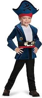 Toddler Classic Neverland Pirates Captain Jake Costume