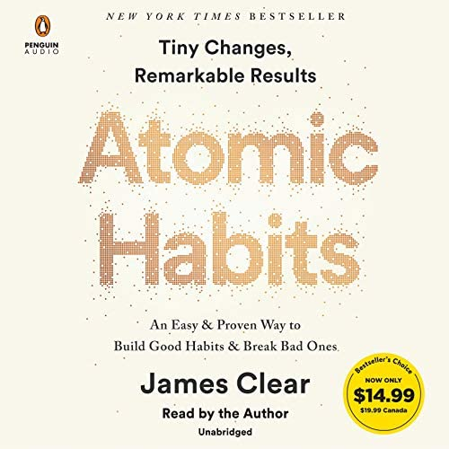 Atomic Habits An Easy Proven Way to Build Good Habits Break Bad Ones product image