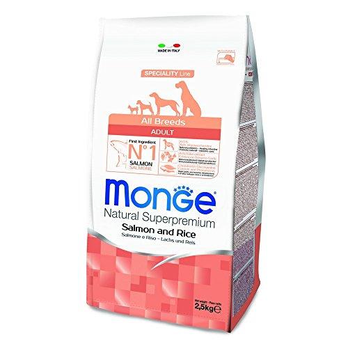 Monge Natural SUPERPREMIUM Cane Salmone Monoproteici Cane Secco