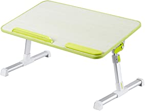Small Table Foldable Multi-Function Laptop Table Green 60 * 33 * 24Cm