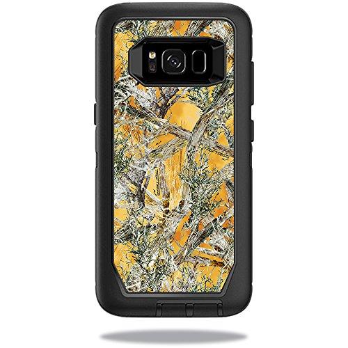 MightySkins Skin Compatible with OtterBox DefenderSamsung Galaxy S8 Case Sticker wrap Cover Sticker Skins TrueTimber Mc2 Blaze