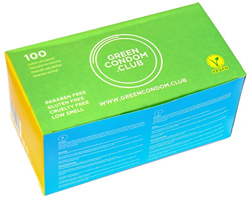 Green Condom Club Preservativos Veganos 100Ud 400 g