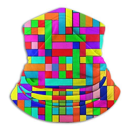 ShiHaiYunBai Tour de Cou Cagoule Microfibre Chapeaux Tube Masque Visage, Fleece Neck Warmer - Color Box Neck Gaiter Tube, Bandana, Headband & Beanie