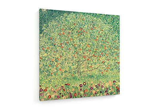Gustav Klimt - Apfelbaum I - ca. 1912-80x80 cm - Leinwandbild auf Keilrahmen - Wand-Bild - Kunst, Gemälde, Foto, Bild auf Leinwand - Alte Meister/Museum