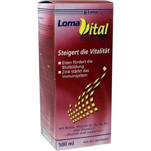 LOMAVITAL Eisen + Zink flüssig 500 ml