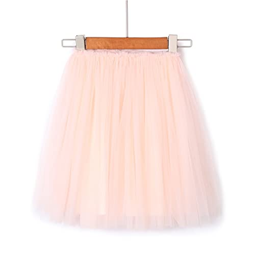 d731f7e0d Flofallzique Tulle Tutu Skirt for 1-12 Year Old Girls Dancing Party Girls  Clothes Pink