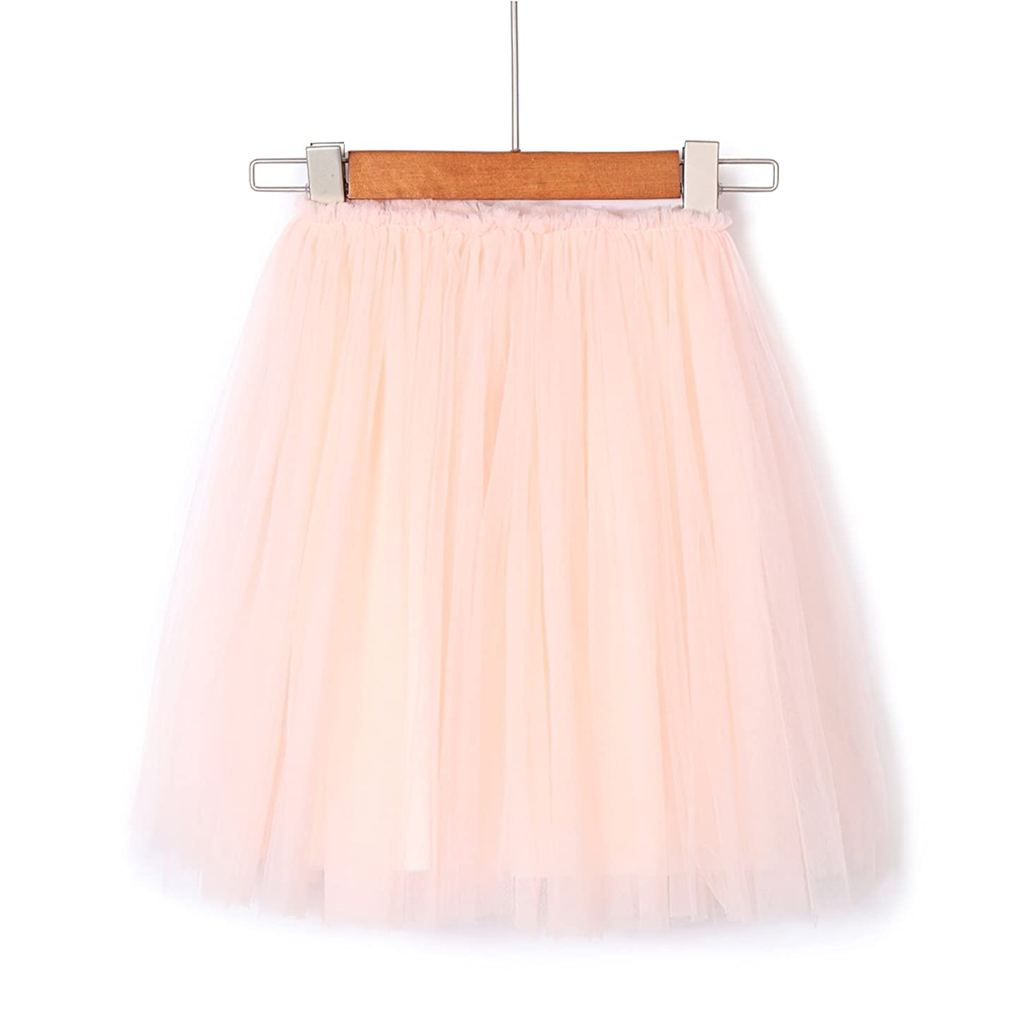 Flofallzique Tulle Tutu Skirt for 1-12 Year Old Girls Dancing Party Girls Clothes