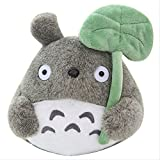 ypzzPlüsch-Spielzeug 22cm Nette Katze Plüsch Amine Spielzeug Totoro Puppe mit Lotusblatt Kleinen...