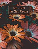 2021-2025 Five Year Planner: 60 Months Yearly Planner, Monthly Calendar, Agenda Logbook, Schedule Organizer, Daily Appointment Notebook, Plan and schedule your next five years.