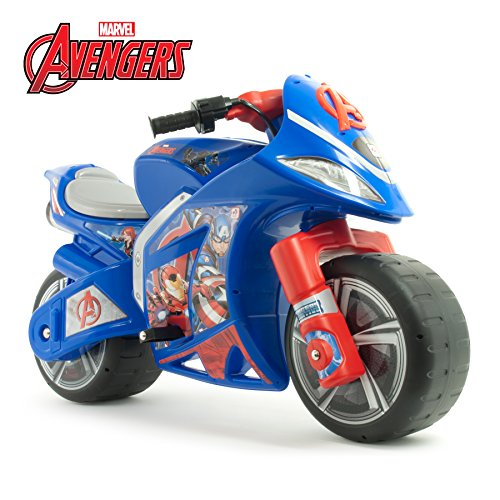 Injusa - 64677 - Electric Vehicle - Moto Vento Avengers - 6V