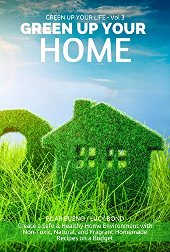 Book: GREEN UP YOUR HOME - Create a Safe & Healthy Home Environment with Non-Toxic, Natural, and Fragrant Homemade Recipes on a Budget by Pilar Bueno