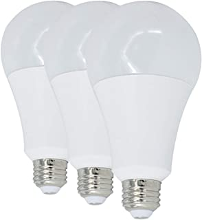 16W LED Light Bulb,1600LM, 5000K Day White 120W-150W Incandeslence Lamps Replacement,3Pcs/Pack