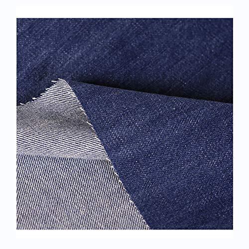 Tela de Mezclilla Lavada de Algodón Material de La Camiseta Del Vestido de Los Pantalones Vaqueros Labor de Retazos Costura de Ropa 150cm de Ancho, Vendido por Metro