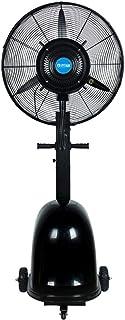 噴霧扇 業務用スプレー扇 110V 工場扇 工業扇風 強力な電動ファン スプレーミストファ サーキュレーター 霧化ファン ミストスプレーファン 可動式 垂直型 フロア加湿器 コールドファン, 3スピード設定, 350W 大型冷風扇