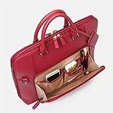 Mdsfe Bolso Mujer Bolso de Capacidad Bolso Bandolera de Color sólido Multifuncional Bolso de Hombro de Cuero Diseño Bolso Femenino Bolso de señora - Rojo, a2, XL