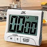 HOME MOST 3' Large Display Kitchen Timer - Digital Timer Magnetic Back Loud...