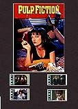 Desconocido Pulp Fiction Film Cell Style Display 8x6 Montado 4 Celdas, Sin Marco, 25,40 x 20,32 cm