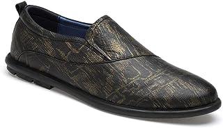 CAIFENG Sneaker di Moda for Gli Uomini Scarpe Sportive Slip on Style Bue Bue Materiale Round Toe Colors Colori Abbinamenti...