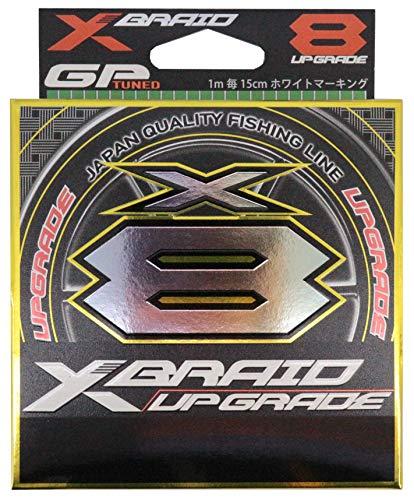よつあみ エックスブレイド(X-Braid) アップグレード X8 200m 0.8号 16lb グリーン 1m毎15cmホワイトマーク