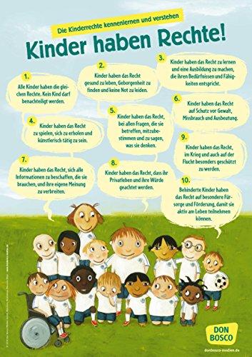 Wir haben Rechte!: Die UN Kinderrechte als DIN-A1 Plakat (Poster für die Öffentlichkeitsarbeit in Kitas & Gr&schulen)