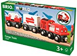 Brio Cargo Train World - Train (33888) - Wooden Train - Compatible with All Wooden Train Sets
