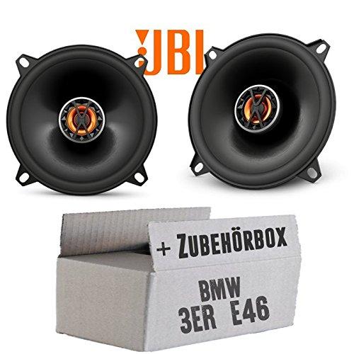 BMW 3er E46 - Lautsprecher Boxen JBL Club 5020 | 2-Wege | 13cm Koax Auto Einbausatz - Einbauset