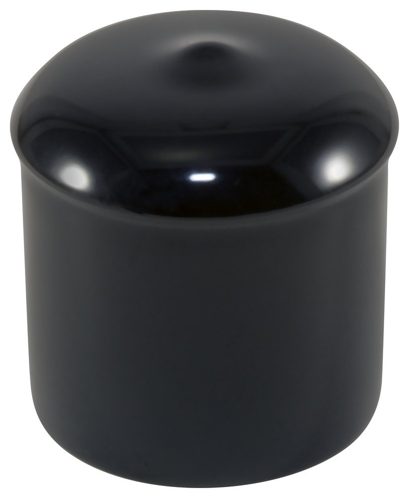 Super sale period limited Caplugs Award-winning store Plastic Cap with Flanges. 0.87 ID Vinyl VCF-875-16