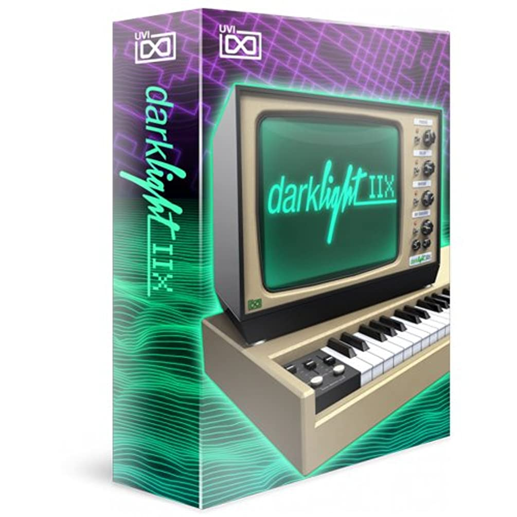 修復代わって菊UVI ソフトウェア音源 Darklight IIX