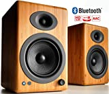 Audioengine A5+ Plus Wireless Speaker | Desktop Monitor Speakers | Home Music System aptX HD Bluetooth,150W...