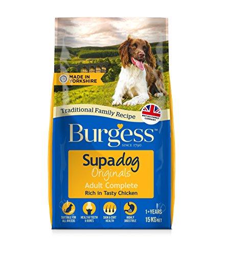 Burgess Supadog Dog Food Rich in British Chicken Adult 15 kg