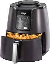 Ninja Air Fryer AF100, Roast, Reheat, Dehydrate, 3.8 Litres, 1550 Watts, Grey and Black