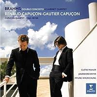 Brahms: Double Concerto Op. 102; Clarinet Quintet Op.115 (2007-11-06)