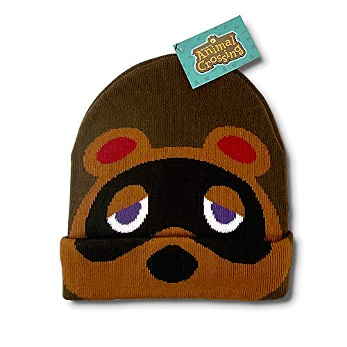 Controller Gear Authentic and Officially Licensed Animal Crossing - New Horizon- Tom Nook Beanie