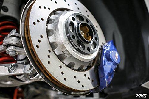 Renn Motorsport 12.5MM Compatible with BMW Wheel Spacers with Bolts E36 E46 E60 E63 E64 E90 E92 318i 323i 325i 328i 330i 335i 525i 545i Z3 Z4 Z8 M3 M5 2 Pieces 5x120 Auto Parts BMW/_12MM/_SpacerSet
