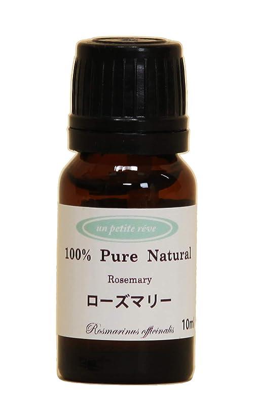 請願者方程式治療ローズマリー 10ml 100%天然アロマエッセンシャルオイル(精油)