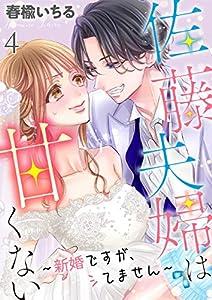 佐藤夫婦は甘くない~新婚ですが、シてません~ 4巻 表紙画像