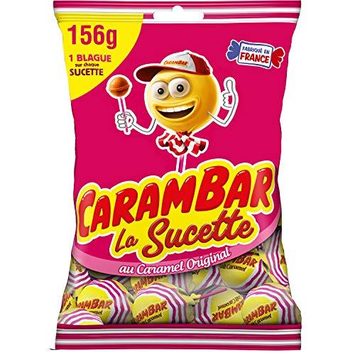 Carambar Bonbon Sucettes Caramel 156 g