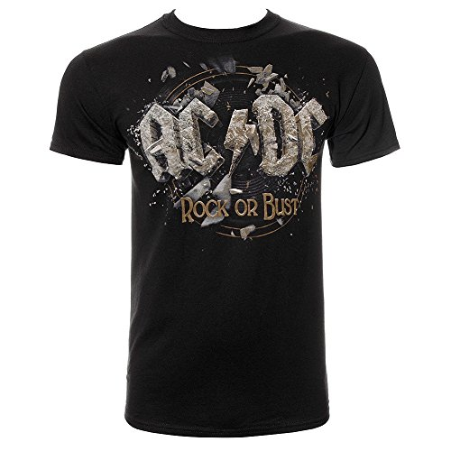 AC/DC Rock Or Bust T Shirt (Black)