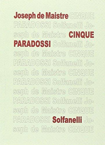 Cinque paradossi