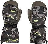 Volcom - Manoplas de esquí y Snow 91 Gore-tex Army para hombre, talla XL, color verde