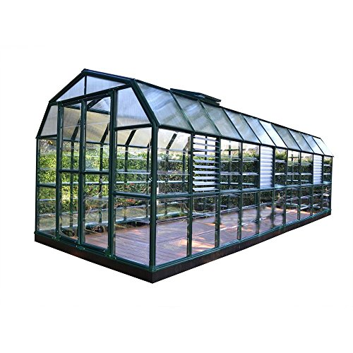 Rion Prestige 8 ft. x 20 ft. Clear Greenhouse