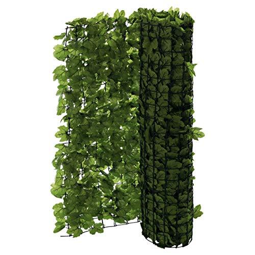Pureday Balkon-Sichtschutz Efeu zuschneidbar grün ca. 3 x 1 m