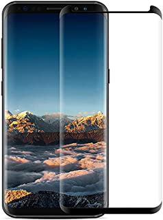 Samsung Galaxy S7 Edge Screen Protector [2 Pack] S7 Edge Tempered Glass Guard Film Screen Film HD Clear 3D Curved Full Coverage Screen Saver[9H Hardness,Anti-Scratch, Anti-Bubble]